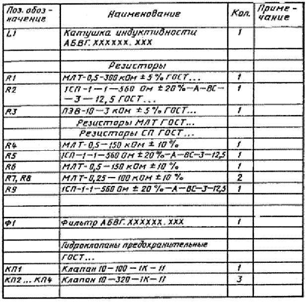 Обозначения буквенно-цифровые в электрических схемах по гост 2.710-81